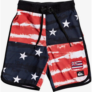 "Boys 2-7 Everyday Freedom Quad 14"" Boardshorts"