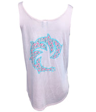 LADIES FLAMINGO TANK