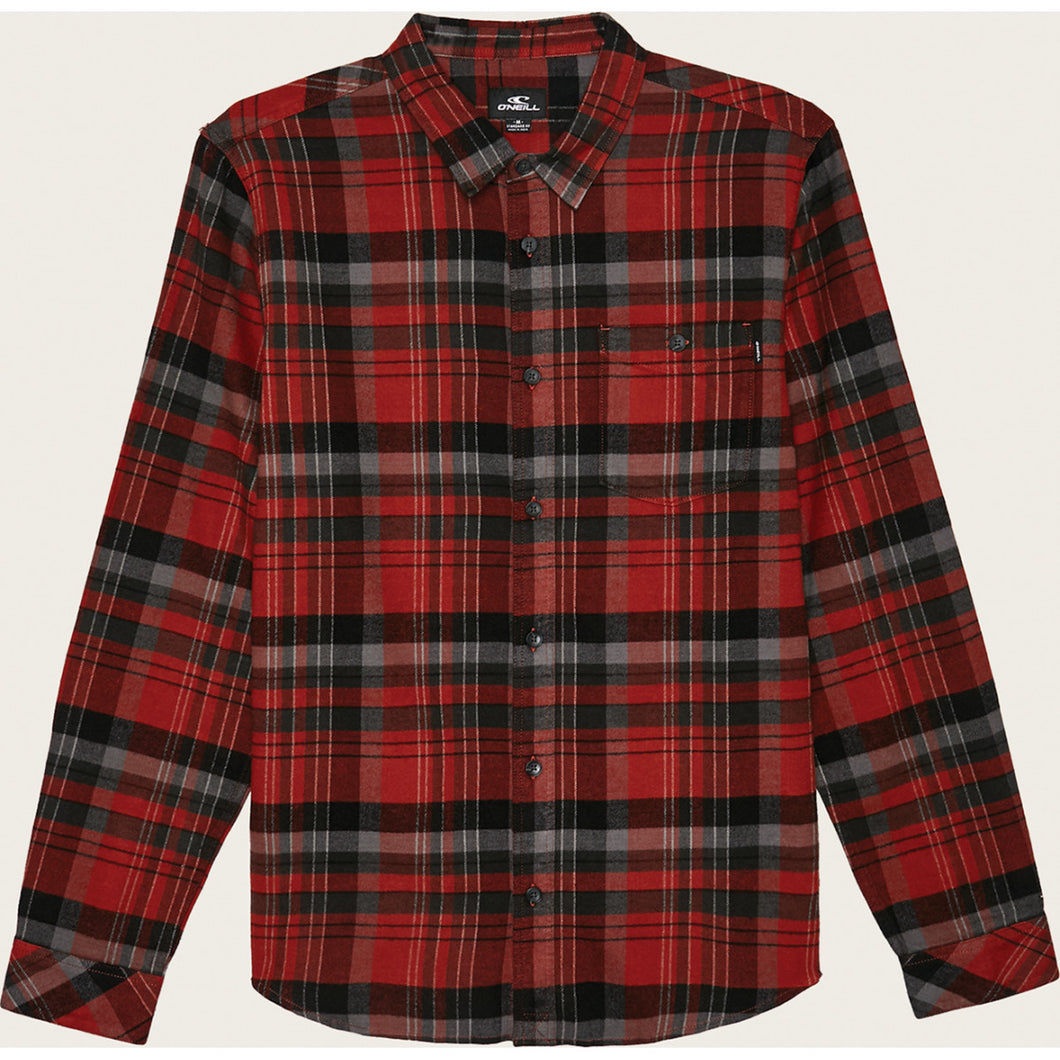 BOYS LONG SLEEVE REDMOND FLANNEL