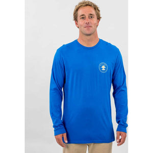 World Search Heritage Long Sleeve in Legion Blue