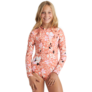 GIRLS PETAL PARTY BODYSUIT
