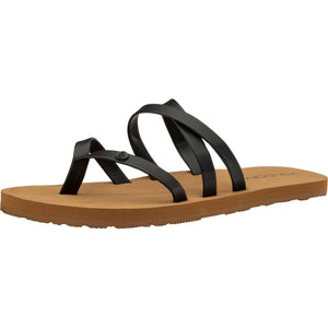 GIRLS EASY BREEZY BIG GIRLS SANDALS - BLACK