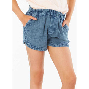 Girls Classic Surf Short in Navy