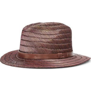 Messer Straw Fedora - Tan