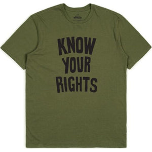 Strummer Know Your Rights II S/S Standard Tee - Black