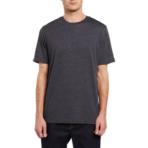 HEATHER SOLID S/S TEE
