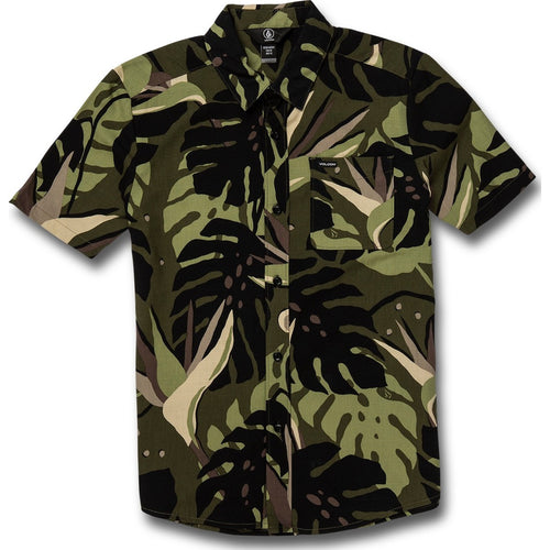 BIG BOYS MENTAWAIS SHORT SLEEVE TEE - MILITARY