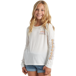 GIRLS HAPPY TRAILONG SLEEVE TEE