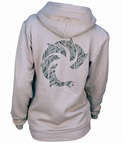 WOMENS PALM AID ZIP HOOD