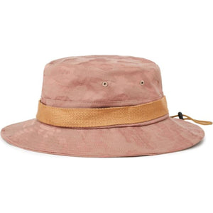 VANESSA BUCKET HAT - WASHED BLACK/BONE