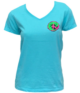 Peace Porp Ladies S/S V-neck