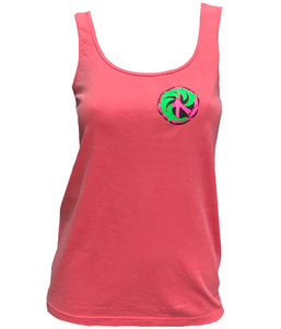 Peace Porp Ladies Vintage Tank