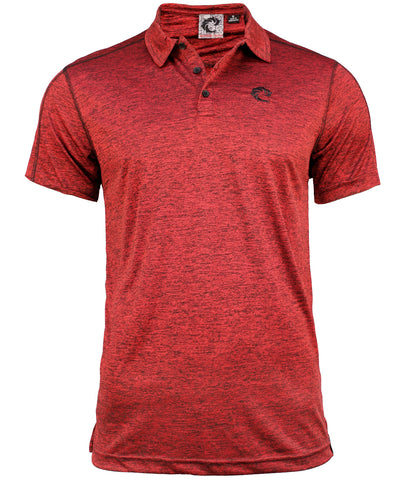 ATHLETIC RED S/S POLO