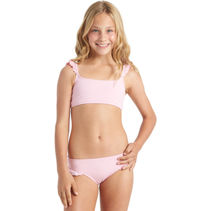 GIRLS WARM DAYS RUFFLE TRI