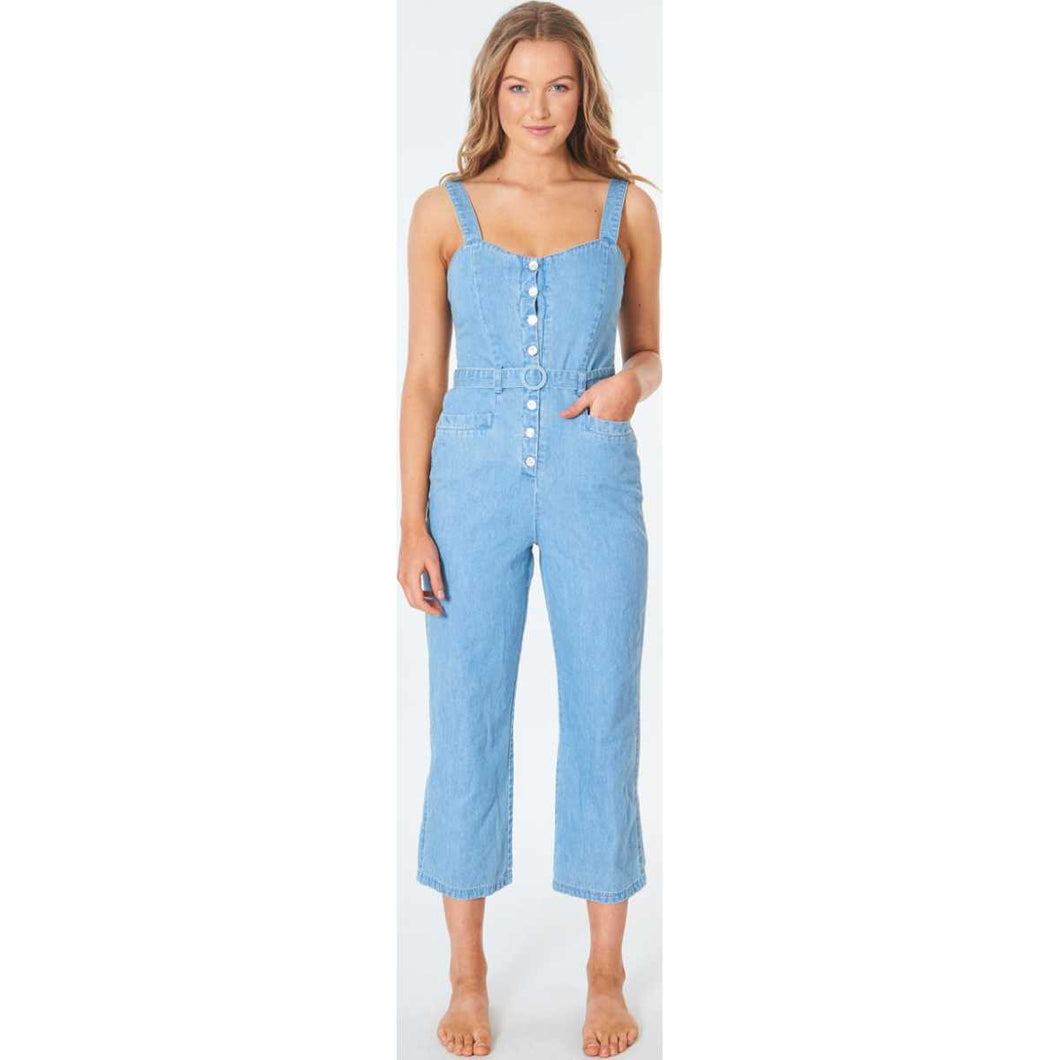 Golden Days Jumpsuit in Blue