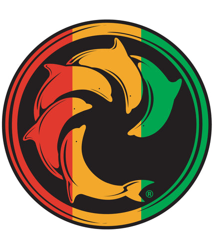 RASTA STRIPES DECAL