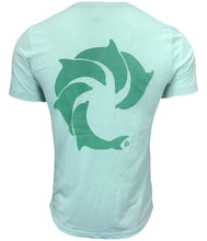Solid Seagreen Tri-blend S/S