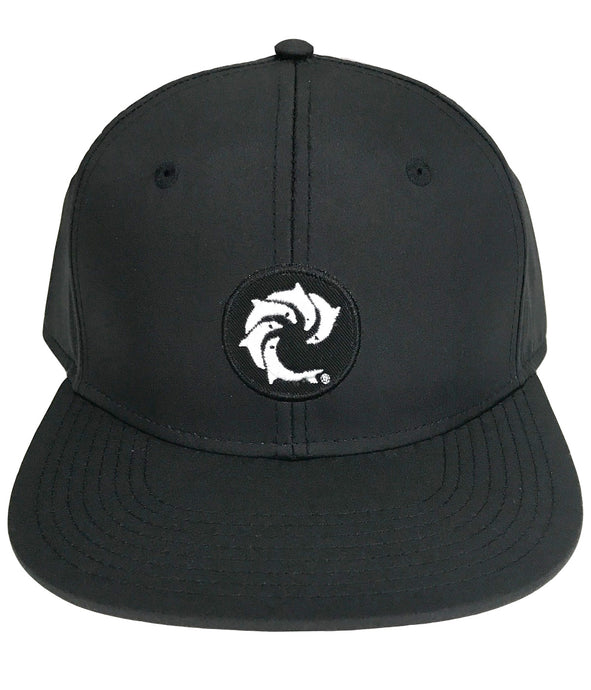 SOLID PATCH SNAPBACK (BLACK)