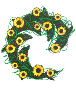Sunflower Decal