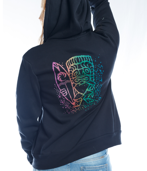 TIKI GUY LADIES ZIP HOOD