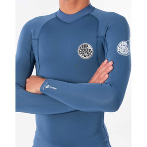 E Bomb Long Sleeve Wetsuit Jacket in Blue