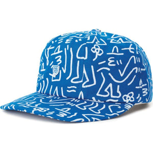B-Shield III Cap - Royal/White
