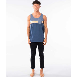 Surf Revival Tank in Burgundy
