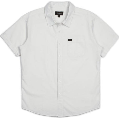 Charter Oxford S/S Woven - Off White