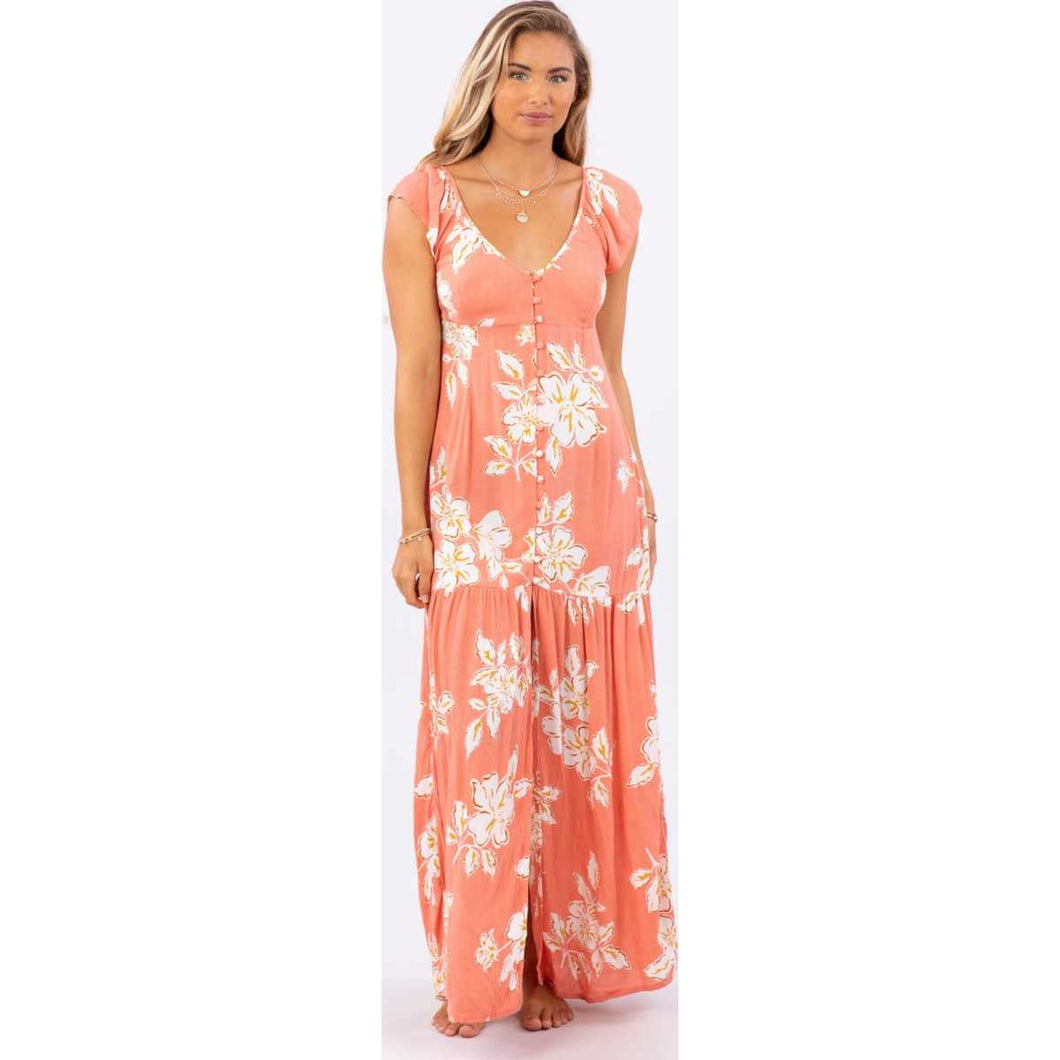 Paradise Beach Maxi  in Dusty Rose