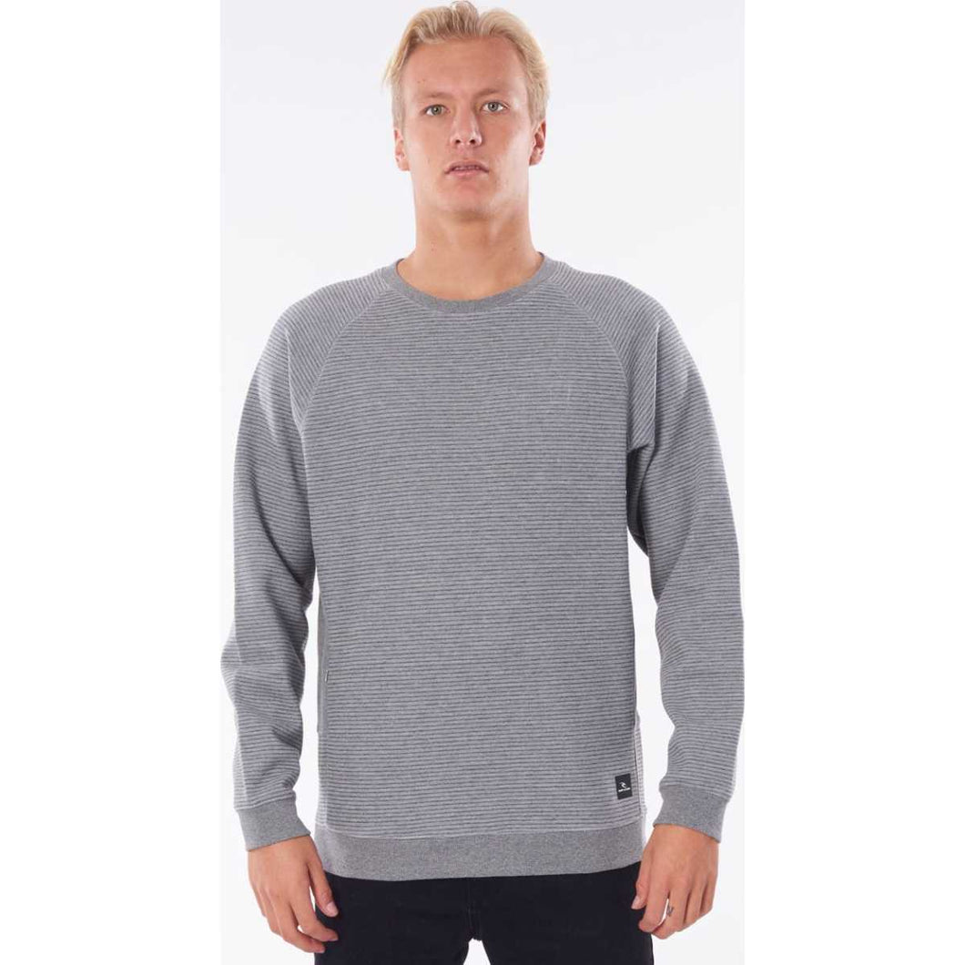 Vapor Cool Crew in Grey Marle