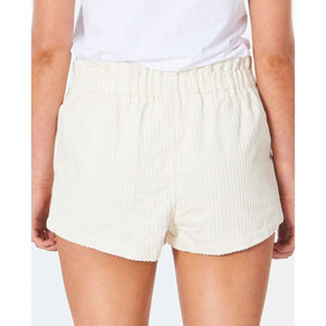 Golden Days Cord Short in Cream