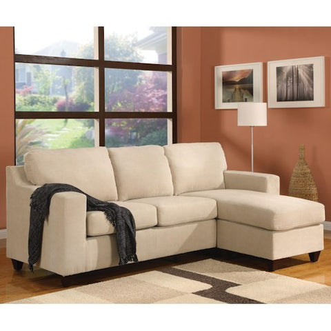 Acme Furniture 5913 Vogue Reversible Chaise Two Piece Sectional