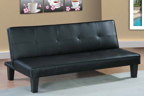 Black Sleeper Sofa by Furniture World