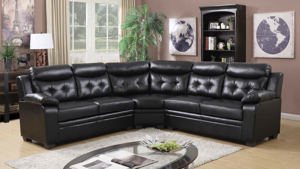 Stationary Sectional by Furniture World