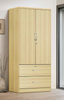 Two Drawer & Two Door Wardrobe by Furniture World