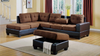 Two-Tone Sectional by Furniture World
