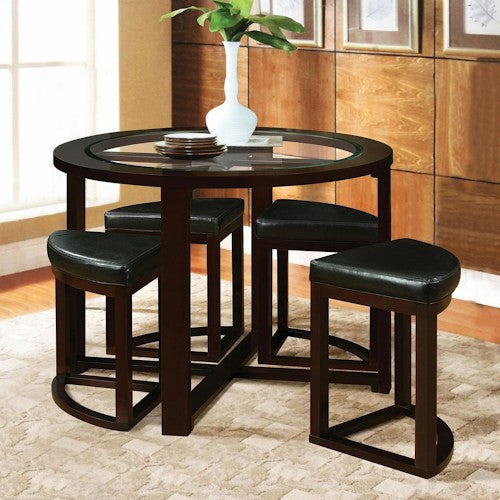 Acme Furniture Patia Counter Height Table W/ Glass Top