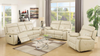 Tufted Styling Recliner Living Room Group by Furniture World