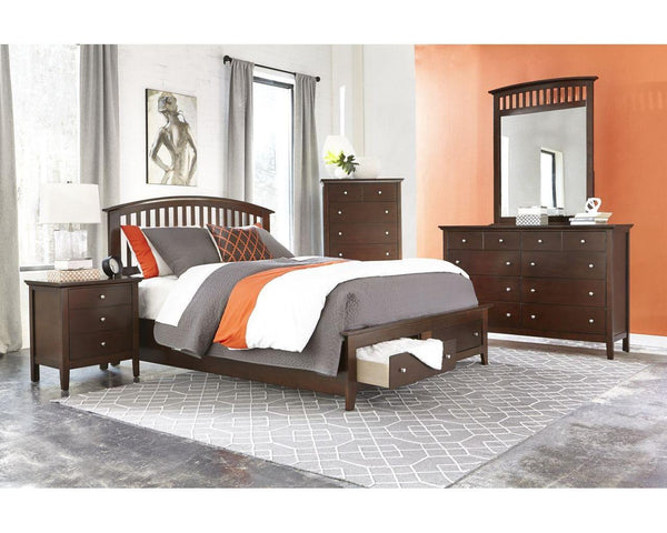 Conrad Storage Platform Bed