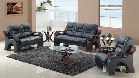 Cappucino Bucket Seat Living Room Group by Furniture World