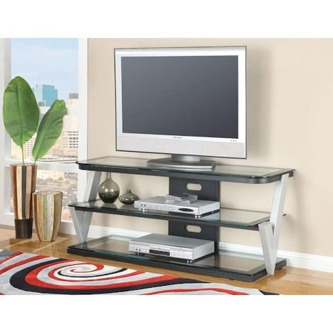 Acme Furniture Bardrick 52-Inch TV Stand with Check Mark Side Supports