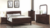 Louis Philippe Sleigh Bedroom Group by Furniture World