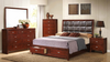 Quilted Headboard Bedroom Group by Furniture World