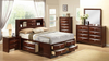 6-Drawer Storage Bedroom Group in Cherry by Furniture World