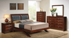 Arched Leg Platform Bedroom Group by Furniture World
