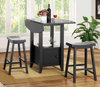 Counter Height Double Drop Down Dining Group by Furniture World