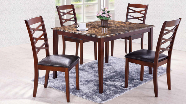 Cherry X Back Dining Group by Furniture World