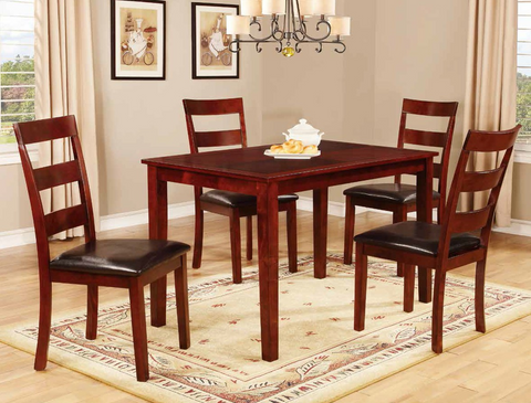 5-Piece Cherry Dining Group by Furniture World