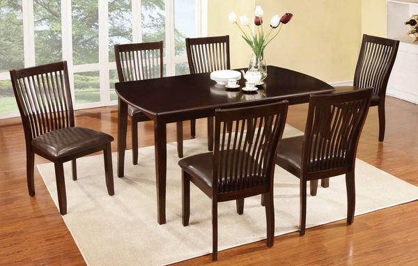 Espresso Dining Room Group by Furniture World