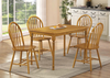 Farmhouse 5-Piece Dining Group by Furniture World